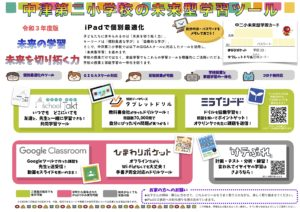 中津第二小学校の未来型学習ツール